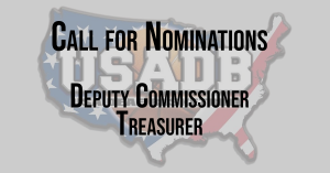 Call for Nominations: Deputy Commissioner and Treasurer